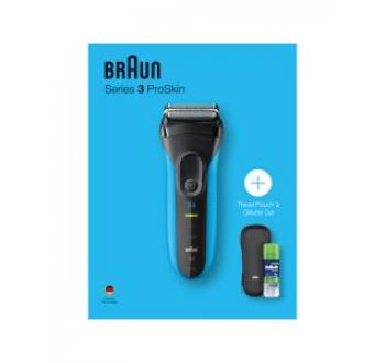 Braun SERIES3 3010S + POUCH + GEL (GIFT BOX) Scheer en epileer apparaat