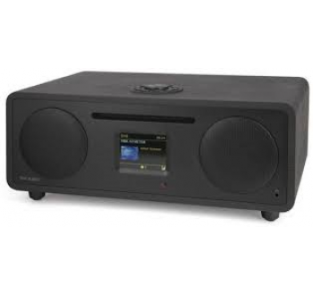 Tiny Audio TINY AUDIO STEREO WIDE DAB PLUS RADIO ZWART Radio en wereldontvanger