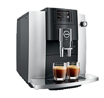 Jura E6 Espresso machine Platina