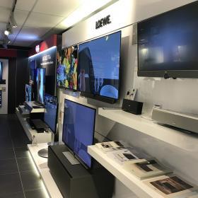 Bekijk televisies in onze winkels